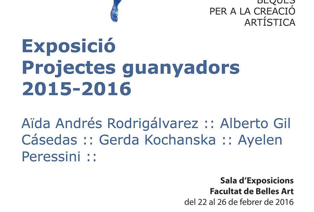 EXPOSICIÓ PRESENTACIÓ PROJECTES GUANYADORS 2015-2016