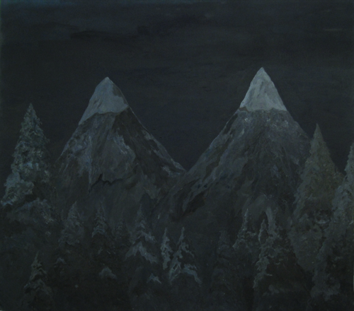 Paulina_Silva_Hauyon._I_choose_Darkness_Twin_Peaks_oli_i_acrilic_sobre_tela_175_x_195_cm_2009