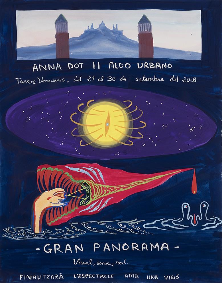 Postal Aldo Urbano i Anna Dot